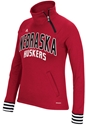 Adidas Ladie Ultimate Quarter Zip Pullover - Red Nebraska Cornhuskers, Nebraska  Zippered, Huskers  Zippered, Nebraska  Crew, Huskers  Crew, Nebraska  Ladies Sweatshirts, Huskers  Ladies Sweatshirts, Nebraska  Ladies, Huskers  Ladies, Nebraska Adidas Ladie Ultimate Quarter Zip Pullover - Red, Huskers Adidas Ladie Ultimate Quarter Zip Pullover - Red