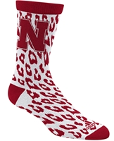 Adidas Ladies Cheetah Nebraska Sock Nebraska Cornhuskers, Nebraska  Ladies Accessories, Huskers  Ladies Accessories, Nebraska  Ladies, Huskers  Ladies, Nebraska  Footwear, Huskers  Footwear, Nebraska Adidas Ladies Cheetah Nebraska Sock , Huskers Adidas Ladies Cheetah Nebraska Sock