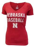 Adidas Ladies Nebraska Baseball Triblend Tee Nebraska Cornhuskers, Nebraska  Ladies Tops, Huskers  Ladies Tops, Nebraska  Ladies T-Shirts, Huskers  Ladies T-Shirts, Nebraska  Ladies, Huskers  Ladies, Nebraska   Baseball, Huskers   Baseball, Nebraska Red W SS Triblend Baseball Block Tee Adi, Huskers Red W SS Triblend Baseball Block Tee Adi