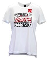 Adidas Ladies Nebraska Football Yola Tee Nebraska Cornhuskers, Nebraska  Ladies T-Shirts, Huskers  Ladies T-Shirts, Nebraska  Ladies, Huskers  Ladies, Nebraska  Short Sleeve, Huskers  Short Sleeve, Nebraska Adidas Ladies Nebraska Football Yola Tee, Huskers Adidas Ladies Nebraska Football Yola Tee