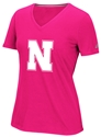 Adidas Ladies Pink Husker N Tee Nebraska Cornhuskers, Nebraska  Ladies T-Shirts, Huskers  Ladies T-Shirts, Nebraska  Ladies Tops, Huskers  Ladies Tops, Nebraska  Ladies, Huskers  Ladies, Nebraska  Short Sleeve, Huskers  Short Sleeve, Nebraska Pink, Huskers Pink, Nebraska Adidas Ladies Pink Husker N Tee, Huskers Adidas Ladies Pink Husker N Tee