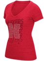 Adidas Ladies Tri Blend Iron N Rhinestone V-Neck Tee - Red Nebraska Cornhuskers, Nebraska  Short Sleeve, Huskers  Short Sleeve, Nebraska  Ladies, Huskers  Ladies, Nebraska  Ladies T-Shirts, Huskers  Ladies T-Shirts, Nebraska  Ladies Tops, Huskers  Ladies Tops, Nebraska Adidas Ladies Tri Blend Iron N Rhinestone V-Neck Tee - Red, Huskers Adidas Ladies Tri Blend Iron N Rhinestone V-Neck Tee - Red