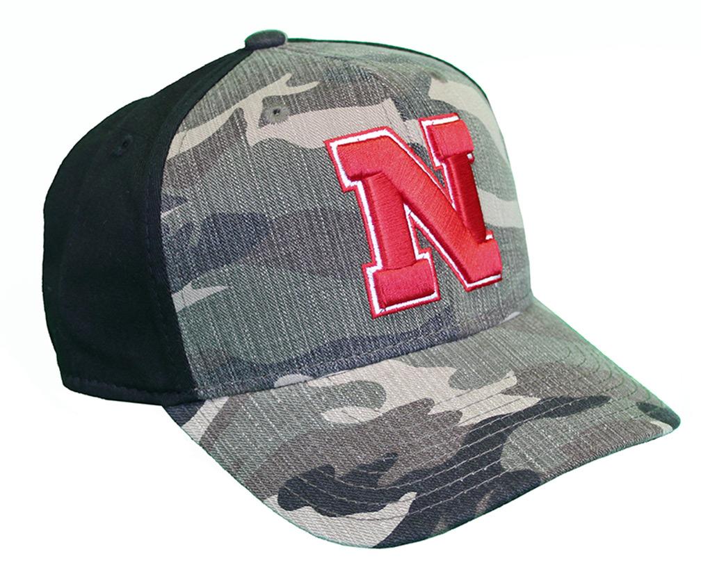 ef74a16568314 Adidas Nebraska Camo Hat - HT-B3628 ...