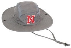 Adidas Nebraska Fisherman's Hat Nebraska Cornhuskers, Nebraska  Mens Hats, Huskers  Mens Hats, Nebraska  Mens Hats, Huskers  Mens Hats, Nebraska Gray Bucket Mesh Panel Hat Adi, Huskers Gray Bucket Mesh Panel Hat Adi