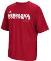 Adidas Nebraska Football Embrace The Grind Tee Nebraska Cornhuskers, Nebraska  Mens T-Shirts, Huskers  Mens T-Shirts, Nebraska  Mens, Huskers  Mens, Nebraska  Short Sleeve, Huskers  Short Sleeve, Nebraska Adidas Nebraska Football Embrace The Grind Tee, Huskers Adidas Nebraska Football Embrace The Grind Tee