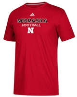 Adidas Nebraska Football Ultimate Rush Tee Nebraska Cornhuskers, Nebraska  Mens T-Shirts, Huskers  Mens T-Shirts, Nebraska  Mens, Huskers  Mens, Nebraska  Short Sleeve, Huskers  Short Sleeve, Nebraska Adidas Nebraska Football Ultimate Rush Tee, Huskers Adidas Nebraska Football Ultimate Rush Tee
