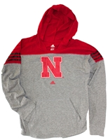 Adidas Nebraska Girls Gametime Slouchy Hoodie Nebraska Cornhuskers, Nebraska  Youth, Huskers  Youth, Nebraska  Kids, Huskers  Kids, Nebraska Girls Gametime Slouchy Hoodie Adi, Huskers Girls Gametime Slouchy Hoodie Adi
