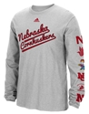 Adidas Nebraska Huskers Evolution LS Tee Nebraska Cornhuskers, Nebraska  Mens T-Shirts, Huskers  Mens T-Shirts, Nebraska  Mens, Huskers  Mens, Nebraska  Long Sleeve, Huskers  Long Sleeve, Nebraska Adidas Nebraska Huskers Evolution LS Tee, Huskers Adidas Nebraska Huskers Evolution LS Tee