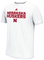 Adidas Nebraska Huskers Hustle Performance Tee Nebraska Cornhuskers, Nebraska  Mens T-Shirts, Huskers  Mens T-Shirts, Nebraska  Mens, Huskers  Mens, Nebraska  Short Sleeve, Huskers  Short Sleeve, Nebraska Adidas Nebraska Huskers Hustle Performance Tee, Huskers Adidas Nebraska Huskers Hustle Performance Tee