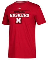 Adidas Nebraska Huskers Launch Tee Nebraska Cornhuskers, Nebraska  Mens T-Shirts, Huskers  Mens T-Shirts, Nebraska  Mens, Huskers  Mens, Nebraska  Short Sleeve, Huskers  Short Sleeve, Nebraska Adidas Nebraska Huskers Launch Tee, Huskers Adidas Nebraska Huskers Launch Tee