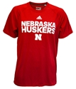 Adidas Nebraska Huskers Ultimate Red Tee Nebraska Cornhuskers, Nebraska  Mens, Huskers  Mens, Nebraska  Mens T-Shirts, Huskers  Mens T-Shirts, Nebraska  Short Sleeve, Huskers  Short Sleeve, Nebraska Adidas Nebraska Huskers Ultimate Red Tee, Huskers Adidas Nebraska Huskers Ultimate Red Tee