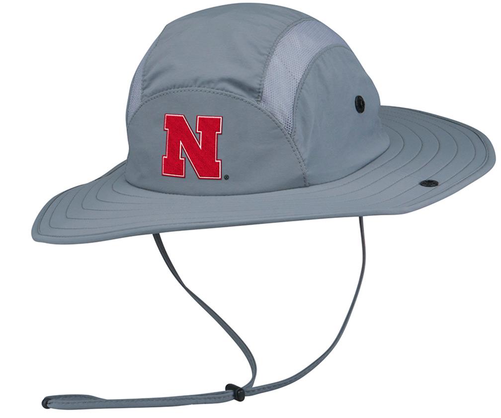 Adidas Nebraska Safari   Fishing Hat - HT-B3602 ... 4708cd5d46c