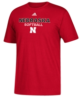 Adidas Nebraska Softball Rush Tee Nebraska Cornhuskers, Nebraska  Mens T-Shirts, Huskers  Mens T-Shirts, Nebraska  Mens, Huskers  Mens, Nebraska  Other Sports, Huskers  Other Sports, Nebraska  Short Sleeve, Huskers  Short Sleeve, Nebraska Adidas Nebraska Softball Rush Tee, Huskers Adidas Nebraska Softball Rush Tee