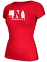 Adidas Nebraska State Better-Half VNeck Nebraska Cornhuskers, Nebraska  Ladies T-Shirts, Huskers  Ladies T-Shirts, Nebraska  Ladies Tops, Huskers  Ladies Tops, Nebraska  Ladies, Huskers  Ladies, Nebraska  Short Sleeve, Huskers  Short Sleeve, Nebraska Adidas Nebraska State Better-Half VNeck, Huskers Adidas Nebraska State Better-Half VNeck