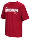 Adidas Nebraska Volleyball Grind Performance Tee Nebraska Cornhuskers, Nebraska  Mens T-Shirts, Huskers  Mens T-Shirts, Nebraska  Mens, Huskers  Mens, Nebraska  Short Sleeve, Huskers  Short Sleeve, Nebraska Volleyball, Huskers Volleyball, Nebraska Adidas Nebraska Volleyball Grind Performance Tee, Huskers Adidas Nebraska Volleyball Grind Performance Tee