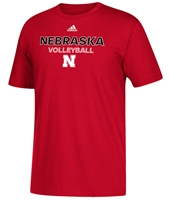 Adidas Nebraska Volleyball Rush Tee Nebraska Cornhuskers, Nebraska  Mens T-Shirts, Huskers  Mens T-Shirts, Nebraska  Mens, Huskers  Mens, Nebraska Volleyball, Huskers Volleyball, Nebraska  Other Sports, Huskers  Other Sports, Nebraska  Short Sleeve, Huskers  Short Sleeve, Nebraska Adidas Nebraska Volleyball Rush Tee, Huskers Adidas Nebraska Volleyball Rush Tee