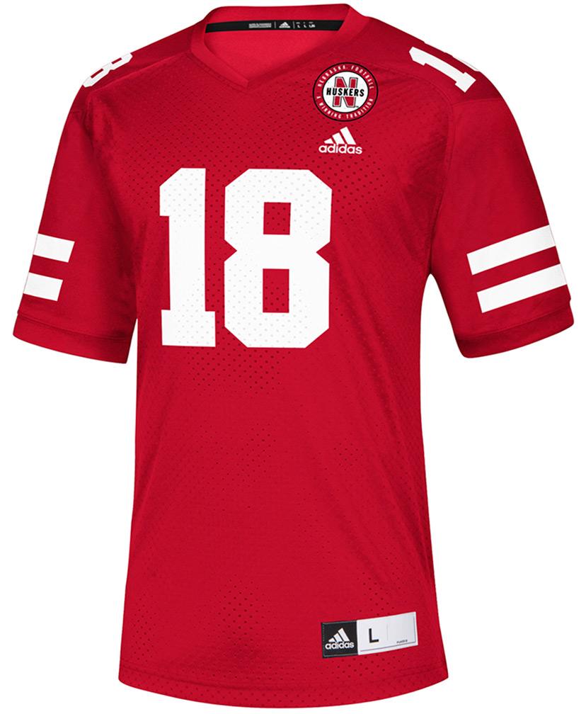 129116193 18 Nebraska Football Replica Jersey - AS-B5003 ...