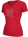 "Adidas Red Bling ""N"" Nebraska Cornhuskers, Nebraska  Ladies Tops, Huskers  Ladies Tops, Nebraska  Ladies T-Shirts, Huskers  Ladies T-Shirts, Nebraska  Ladies, Huskers  Ladies, Nebraska  Short Sleeve   , Huskers  Short Sleeve   , Nebraska Adidas Red Bling N, Huskers Adidas Red Bling N"
