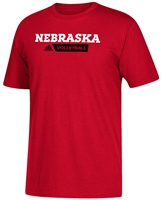 Adidas Red Crush Volleyball Sideline Tee Nebraska Cornhuskers, Nebraska  Mens T-Shirts, Huskers  Mens T-Shirts, Nebraska  Mens, Huskers  Mens, Nebraska  Short Sleeve, Huskers  Short Sleeve, Nebraska Volleyball, Huskers Volleyball, Nebraska Adidas Red SS Go To Volleyball Sideline Gridiron, Huskers Adidas Red SS Go To Volleyball Sideline Gridiron