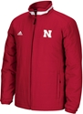 Adidas Red Full Zip Midweight Jacket Nebraska Cornhuskers, Nebraska  Mens Outerwear, Huskers  Mens Outerwear, Nebraska  Mens, Huskers  Mens, Nebraska  Zippered , Huskers  Zippered , Nebraska Adidas Red Full Zip Midweight Jacket, Huskers Adidas Red Full Zip Midweight Jacket