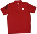 Adidas Red Golf Shirt Nebraska Cornhuskers, Nebraska  Mens Polos, Huskers  Mens Polos, Nebraska  Other Sports, Huskers  Other Sports, Nebraska Adidas Red Golf Shirt, Huskers Adidas Red Golf Shirt