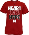 Adidas Red Heart Over Hype Tee Nebraska Cornhuskers, Nebraska  Mens T-Shirts, Huskers  Mens T-Shirts, Nebraska  Mens, Huskers  Mens, Nebraska  Short Sleeve, Huskers  Short Sleeve, Nebraska  Ladies, Huskers  Ladies, Nebraska  Ladies T-Shirts, Huskers  Ladies T-Shirts, Nebraska Adidas Red Heart Over Hype Tee, Huskers Adidas Red Heart Over Hype Tee