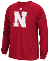 Adidas Nebraska Backbone Climalite Tee Nebraska Cornhuskers, Nebraska  Mens T-Shirts, Huskers  Mens T-Shirts, Nebraska  Mens, Huskers  Mens, Nebraska  Long Sleeve, Huskers  Long Sleeve, Nebraska Adidas Red LS  Climalite Spine Tee, Huskers Adidas Red LS  Climalite Spine Tee