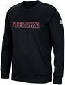 Adidas (Red N White) Nebraska Emroidered Black Crew Nebraska Cornhuskers, Nebraska  Crew, Huskers  Crew, Nebraska  Mens Sweatshirts, Huskers  Mens Sweatshirts, Nebraska  Mens, Huskers  Mens, Nebraska Adidas (Red N White) Nebraska Emroidered Black Crew, Huskers Adidas (Red N White) Nebraska Emroidered Black Crew