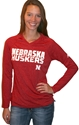 Adidas Red Womens Long Sleeve Razor Too Tee Nebraska Cornhuskers, Nebraska  Ladies Tops, Huskers  Ladies Tops, Nebraska  Ladies T-Shirts, Huskers  Ladies T-Shirts, Nebraska  Ladies, Huskers  Ladies, Nebraska  Long Sleeve, Huskers  Long Sleeve, Nebraska Adidas Red Womens Long Sleeve Razor Too Tee, Huskers Adidas Red Womens Long Sleeve Razor Too Tee