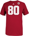 Adidas Red Replica Jersey #80 Tee Nebraska Cornhuskers, Nebraska  Mens T-Shirts, Huskers  Mens T-Shirts, Nebraska  Mens, Huskers  Mens, Nebraska  Short Sleeve, Huskers  Short Sleeve, Nebraska  Mens Jerseys  , Huskers  Mens Jerseys  , Nebraska Adidas Replica Jersey #80 Tee, Huskers Adidas Replica Jersey #80 Tee