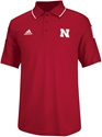 2014 Adidas Red Sideline Coaches Polo Nebraska Cornhuskers, Nebraska  Mens T-Shirts, Huskers  Mens T-Shirts, Nebraska  Mens Polos, Huskers  Mens Polos, Nebraska  Mens, Huskers  Mens, Nebraska  Short Sleeve, Huskers  Short Sleeve, Nebraska Adidas Sideline Coaches Polo, Huskers Adidas Sideline Coaches Polo