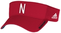"Adidas Skinny ""N"" Red Visor Nebraska Cornhuskers, Nebraska  Mens Hats, Huskers  Mens Hats, Nebraska  Mens Hats, Huskers  Mens Hats, Nebraska  Ladies Hats, Huskers  Ladies Hats, Nebraska  Ladies Hats, Huskers  Ladies Hats, Nebraska Adidas Skinny N Red Visor, Huskers Adidas Skinny N Red Visor"