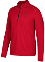 Adidas Ultra Big Red Qtr Zip  Nebraska Cornhuskers, Nebraska Golf Items, Huskers Golf Items, Nebraska  Mens Outerwear, Huskers  Mens Outerwear, Nebraska  Mens, Huskers  Mens, Nebraska Adidas Ultra Qtr Zip Red, Huskers Adidas Ultra Qtr Zip Red