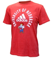 Adidas University of Nebraska Herbie Bullseye Tee Nebraska Cornhuskers, Nebraska  Mens T-Shirts, Huskers  Mens T-Shirts, Nebraska  Mens, Huskers  Mens, Nebraska  Short Sleeve, Huskers  Short Sleeve, Nebraska Adidas University of Nebraska Herbie Bullseye Tee, Huskers Adidas University of Nebraska Herbie Bullseye Tee