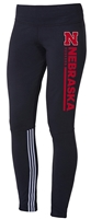Adidas W Black Legging Vertical Bar Nebraska Cornhuskers, Nebraska  Shorts, Pants & Skirts, Huskers  Shorts, Pants & Skirts, Nebraska Shorts & Pants, Huskers Shorts & Pants, Nebraska Adidas W Black Legging Vertical Bar, Huskers Adidas W Black Legging Vertical Bar