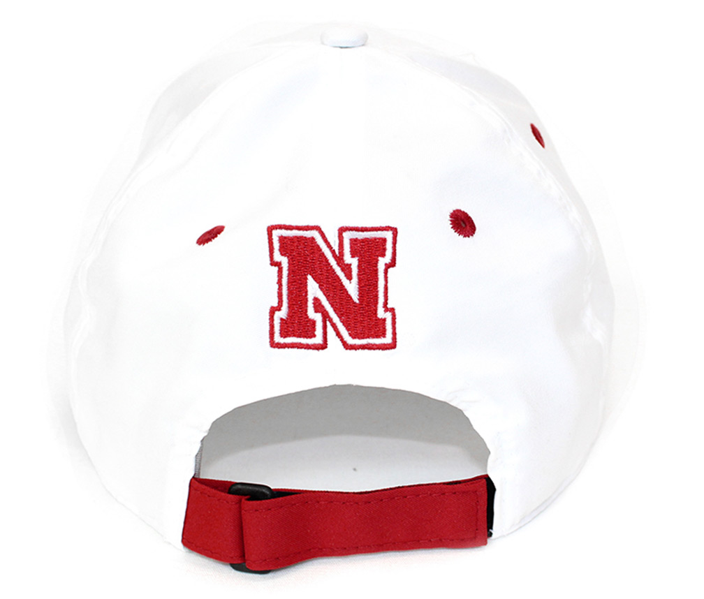 72aeaf5d7e05f ... Adidas White Hatted Huskers N Lid - HT-A5133 ...