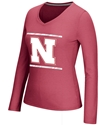 Adidas Womens Long Sleeve Sidline Energize Tee - Red Nebraska Cornhuskers, Nebraska  Long Sleeve, Huskers  Long Sleeve, Nebraska  Ladies, Huskers  Ladies, Nebraska  Ladies T-Shirts, Huskers  Ladies T-Shirts, Nebraska Adidas Womens Long Sleeve Sidline Energize Tee - Red, Huskers Adidas Womens Long Sleeve Sidline Energize Tee - Red