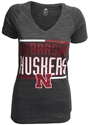Adidas Womens Nebraska Huskers V-Neck Tee - Grey Nebraska Cornhuskers, Nebraska  Short Sleeve, Huskers  Short Sleeve, Nebraska  Ladies, Huskers  Ladies, Nebraska  Ladies T-Shirts, Huskers  Ladies T-Shirts, Nebraska  Ladies Tops, Huskers  Ladies Tops, Nebraska Adidas Womens Nebraska Huskers V-Neck Tee - Grey , Huskers Adidas Womens Nebraska Huskers V-Neck Tee - Grey