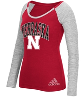 Adidas Womens Nebraska N Bling LS Tee Nebraska Cornhuskers, Nebraska  Ladies T-Shirts, Huskers  Ladies T-Shirts, Nebraska  Ladies Tops, Huskers  Ladies Tops, Nebraska  Ladies, Huskers  Ladies, Nebraska  Long Sleeve, Huskers  Long Sleeve, Nebraska Adidas Womens Nebraska N Bling LS Tee, Huskers Adidas Womens Nebraska N Bling LS Tee