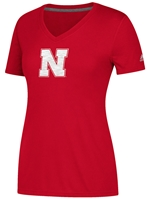 Adidas Womens Ultimate Sideline Huskers Sequel Tee Nebraska Cornhuskers, Nebraska  Ladies T-Shirts, Huskers  Ladies T-Shirts, Nebraska  Ladies, Huskers  Ladies, Nebraska  Short Sleeve, Huskers  Short Sleeve, Nebraska Adidas Womens Ultimate Sideline Huskers Sequel Tee, Huskers Adidas Womens Ultimate Sideline Huskers Sequel Tee