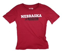 Adidas Youth Nebraska Gridiron Tee Nebraska Cornhuskers, Nebraska  Youth, Huskers  Youth, Nebraska  Kids, Huskers  Kids, Nebraska Red SS Gridiron Youth Tee Adi, Huskers Red SS Gridiron Youth Tee Adi