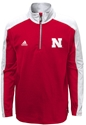 Adidas Youth Quarter Zip Knit Huskers Jacket Nebraska Cornhuskers, Nebraska  Youth, Huskers  Youth, Nebraska  Kids, Huskers  Kids, Nebraska  Zippered, Huskers  Zippered, Nebraska Adidas Youth Quarter Zip Knit Huskers Jacket, Huskers Adidas Youth Quarter Zip Knit Huskers Jacket