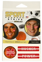 Basketball Eye Strips Nebraska Cornhuskers, Nebraska  Basketball, Huskers  Basketball, Nebraska  Ladies, Huskers  Ladies, Nebraska  Beads & Fun Stuff, Huskers  Beads & Fun Stuff, Nebraska  Novelty, Huskers  Novelty, Nebraska  Tattoos & Patches, Huskers  Tattoos & Patches, Nebraska  Mens Accessories, Huskers  Mens Accessories, Nebraska  Ladies Accessories, Huskers  Ladies Accessories, Nebraska Basketball Eye Strips, Huskers Basketball Eye Strips