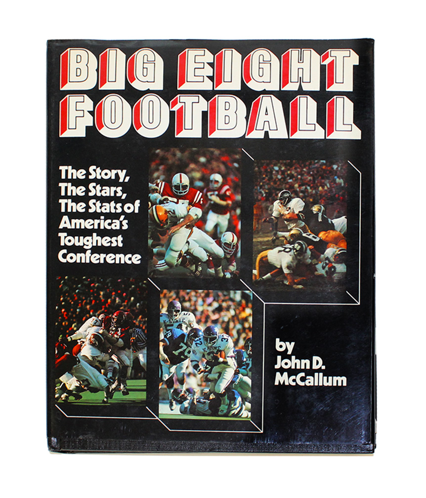 ficial 1976 Big Eight Football Preview Magazine