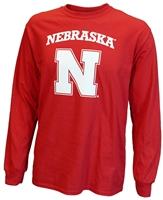 Big Red Husker N Long Sleeve Tee Nebraska Cornhuskers, Nebraska  Mens T-Shirts, Huskers  Mens T-Shirts, Nebraska  Mens, Huskers  Mens, Nebraska  Long Sleeve, Huskers  Long Sleeve, Nebraska Red Block N LS Tee Cornborn, Huskers Red Block N LS Tee Cornborn