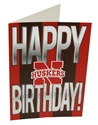 Birthday Card Stripes Nebraska Cornhuskers, Nebraska  Holiday Items , Huskers  Holiday Items , Nebraska Birthday Card Stripes, Huskers Birthday Card Stripes