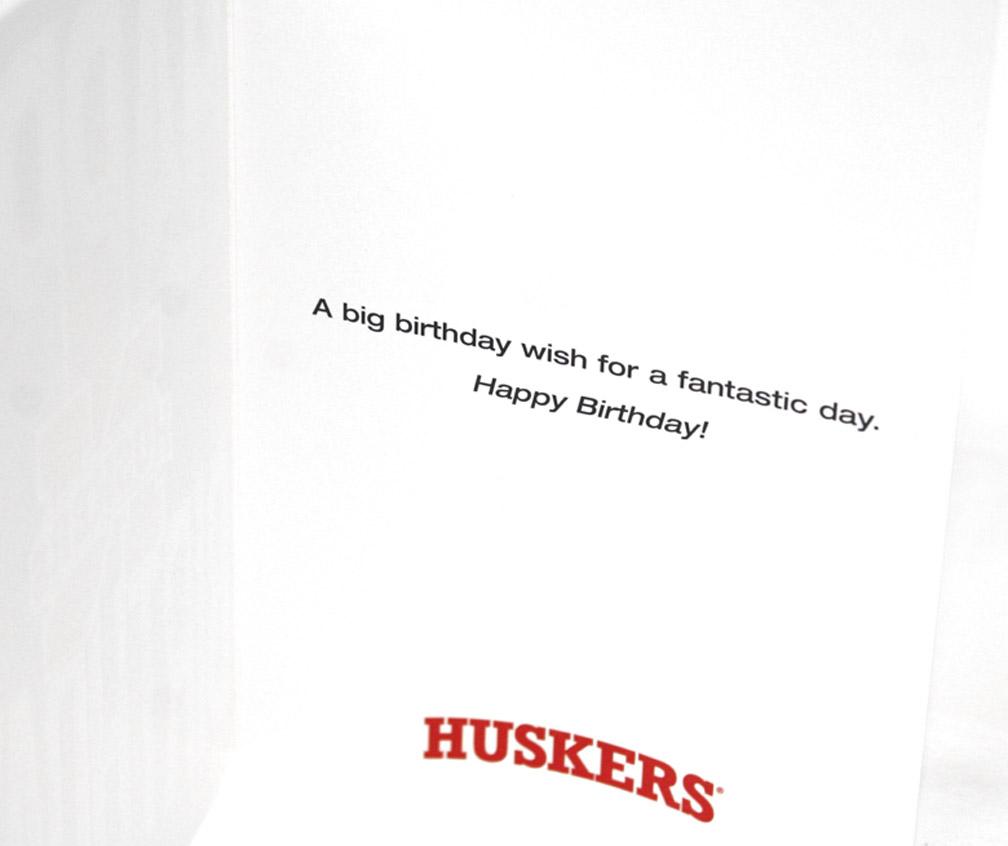 Birthday Card Stripes