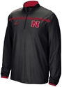 Black Adidas 1/4 Zip Huskers Sideline Long Sleeve Knit Nebraska Cornhuskers, Nebraska  Mens, Huskers  Mens, Nebraska  Mens Outerwear, Huskers  Mens Outerwear, Nebraska Black Adidas 1/4 Zip Huskers Sideline Long Sleeve Knit , Huskers Black Adidas 1/4 Zip Huskers Sideline Long Sleeve Knit