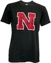 Black Big Iron N Tee Nebraska Cornhuskers, Nebraska  Mens T-Shirts, Huskers  Mens T-Shirts, Nebraska  Mens, Huskers  Mens, Nebraska  Short Sleeve , Huskers  Short Sleeve , Nebraska Black Big Iron N Tee, Huskers Black Big Iron N Tee