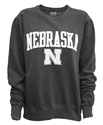 Black Fleece Crew Arch Nebraska Nebraska Cornhuskers, Nebraska  Ladies Sweatshirts, Nebraska  Long Sleeve, Huskers  Long Sleeve, Nebraska  Ladies, Huskers  Ladies, Nebraska  Mens, Huskers  Mens, Nebraska  Mens T-Shirts, Huskers  Mens T-Shirts, Nebraska Arch Nebraska Long Sleeve Tee, Huskers Arch Nebraska Long Sleeve Tee